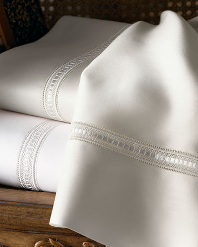 SFERRA Two King 590 Thread Count Pillowcases