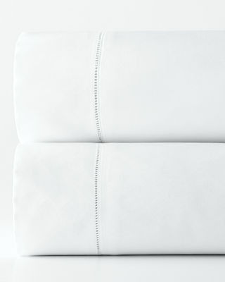 Image 2 of 2: King 1,020 Thread Count Solid Sateen Fitted Sheet