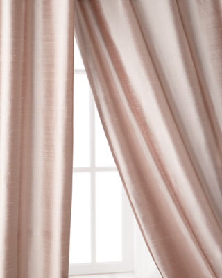 Amity Home Radiance Silk Curtain, 84L