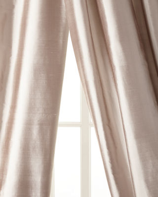 "Radiance Silk Curtain, 84""L"