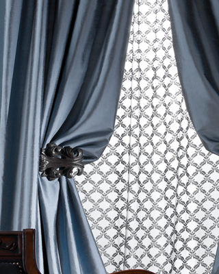 Amity Home Radiance Silk Curtain, 108L