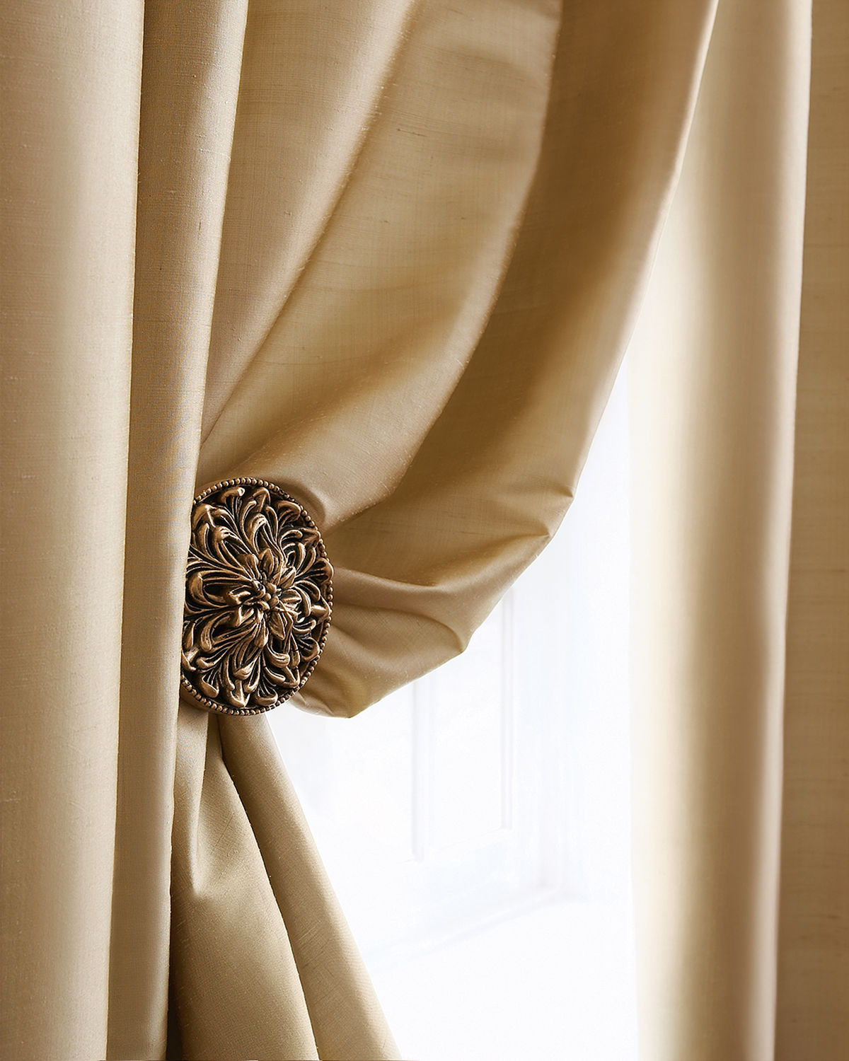 'Amity Home Radiance Silk Curtain, 108