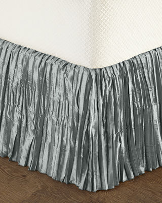Dian Austin Couture Home King Diamond-Trellis Dust Skirt