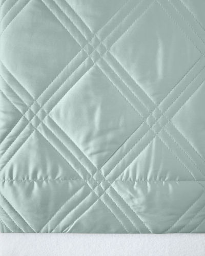 Windowpane Queen Coverlet