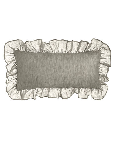Savannah Ruffled Double Boudoir Pillow, 15