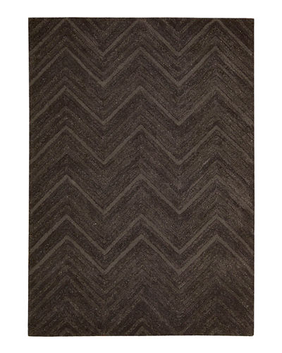 "Dimension Chevron Rug,  7'6"" x 9'6"""