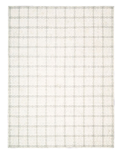 Derby Woven Leather Rug