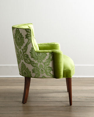 Haute House Bright Tiffany Damask Chair