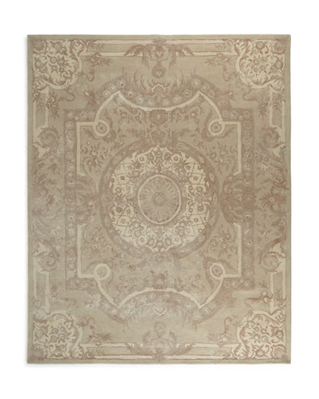 Image 1 of 3: Trudeau Medallion Rug, 6' x 9'