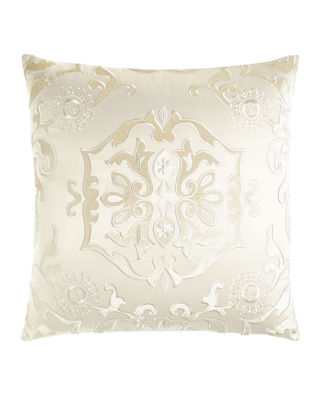"""24""""Sq. Floral """"Morocco"""" Pillow"""