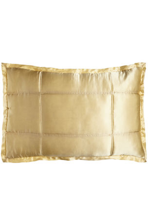 0d47cec0456 Donna Karan Home Reflection Standard Quilted Silk Sham