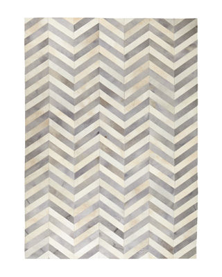 Exquisite Rugs Windsor Chevron Hide Rug, 8' x