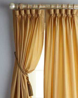 Eastern Accents Each 20w X 96l Pinch - pleat Kate Curtain