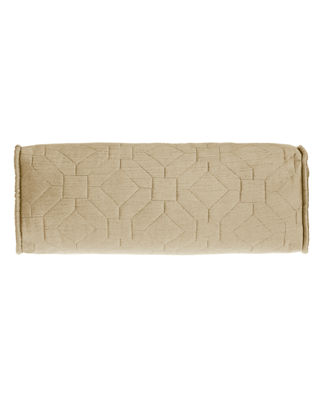 Dian Austin Couture Home Couture Geometric Neckroll Pillow,