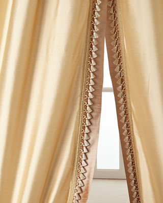 "Two 52""W x 96""L Villa Di Como Curtains"