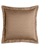 Dian Austin Couture Home European Le Plaza Woven-Pattern