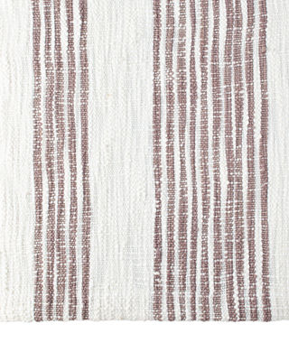 High Quality Queen Striped Coverlet