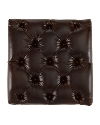"Image 4 of 4: Davidson 119"" Four-Cushion Chesterfield Sofa"