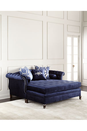 Haute House Duncan Tufted Chaise