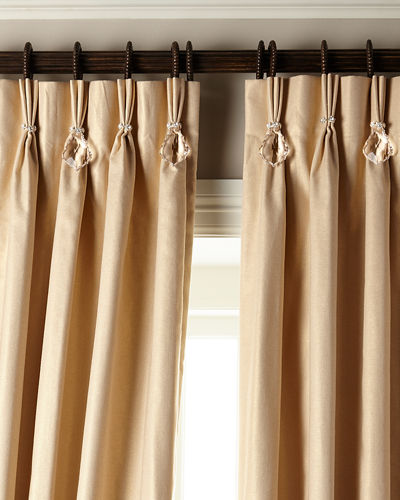 6009 Parker Shimmer Curtains with Asfour Crystals