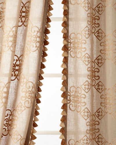 "Two 53""W x 96""L Stockholm Curtains"
