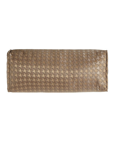 Dian Austin Couture Home Houndstooth Check Neckroll Pillow,