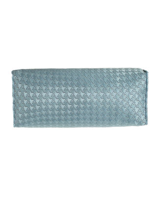 Dian Austin Couture Home Houndstooth Check Neck Roll
