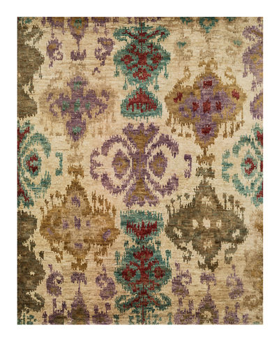 "Majesty Hand Knotted Jute Rug, 8.6"" x 11.6"""