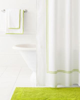 Image 2 of 2: Trio Shower Curtain
