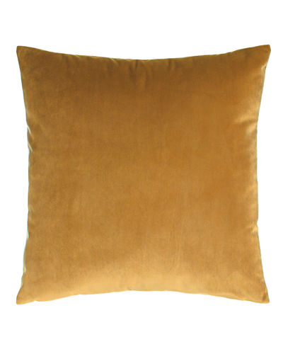 "Liberty Velvet Pillow, 22""Sq."