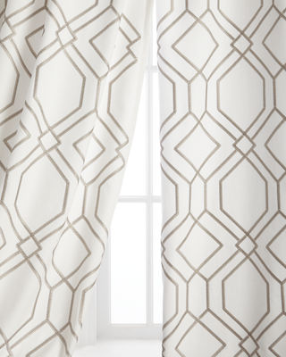 "Each 55""W x 108""L Quinn Curtain"