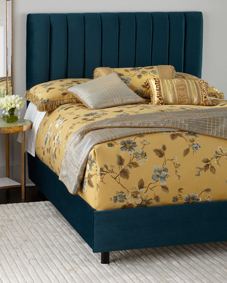 Mystic Channel-Tufted Bed & Matching Items | Neiman Marcus
