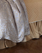Lili Alessandra Champagne/Silver Jackie Bedding & Matching Items