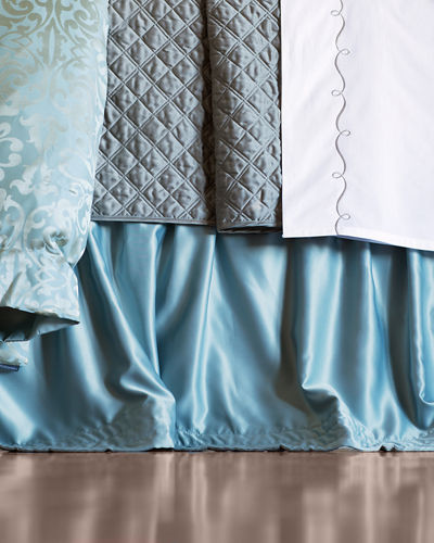 Queen Reversible Quilted Coverlet