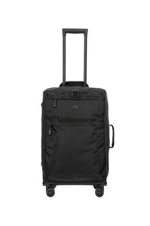 "Bric's Black X-Bag 25"" Spinner Luggage"