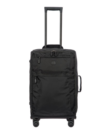 "Bric's Pvcs BLACK X-BAG 25"" SPINNER LUGGAGE"