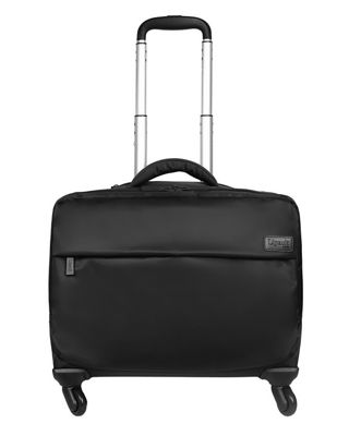 "17"" Spinner Tote Luggage, Black"