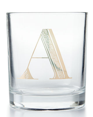 Monogrammed Double Old-Fashioned