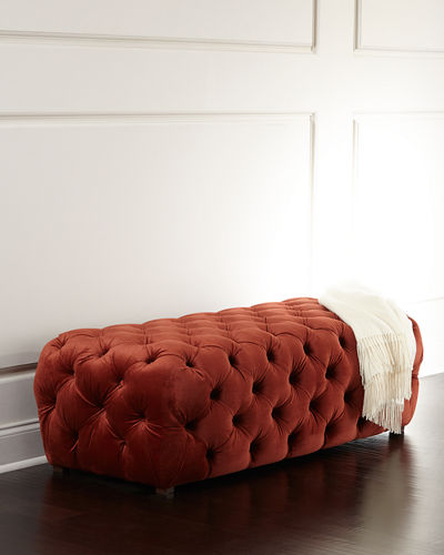 Busby Tufted Bench