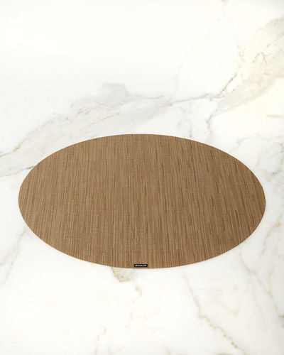 """Bamboo"" Oval Placemat"