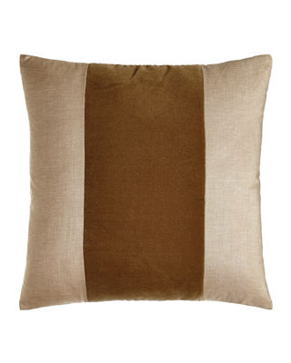 Daniel Stuart Studio Franklin Velvet-Band Pillow, 22