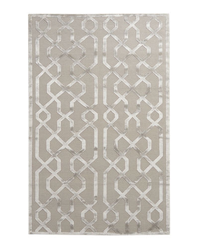 Exquisite Rugs Grimmie Geometric Rug, 9' x 12'