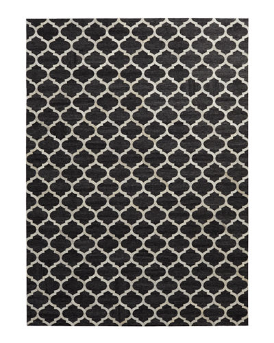 Samovar Hairhide Rug, 8' x 11'