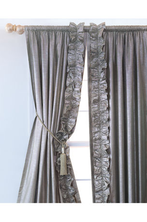 "Eastern Accents Reflection 96""L Left Curtain"