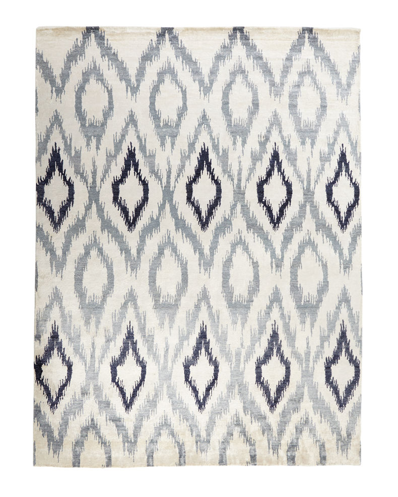 Exquisite Rugs Mesa Hand Knotted Ikat Rug, 12' x 15'