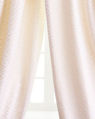 Austin Horn Classics Greek Key Curtains & Matching