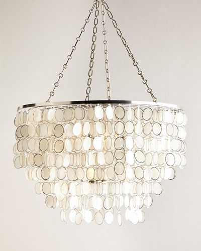 Large Aurora 6-Light Chandelier