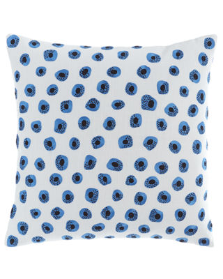 Pine Cone Hill Thumbprint Embroidered Pillow, 20