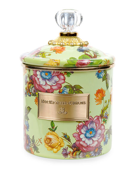 MacKenzie-Childs Small Flower Market Canister
