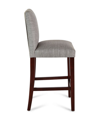 Image 2 of 4: Marcy Pleated Bar Stool
